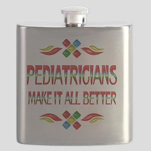 Pediatrician Appreciation Flask