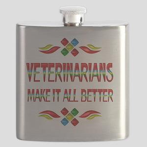 Veterinarian Appreciation Flask