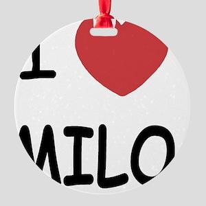 milo Round Ornament