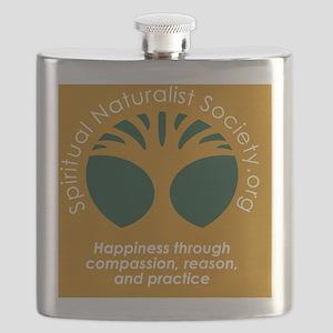 Spiritual Naturalist Society Flask