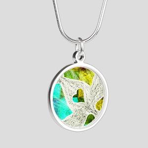 Spirit Silver Round Necklace