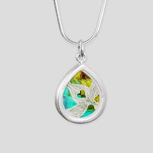 Spirit Silver Teardrop Necklace