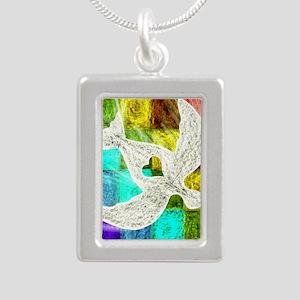 Spirit Silver Portrait Necklace