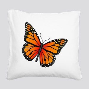 monarch-butterfly Square Canvas Pillow