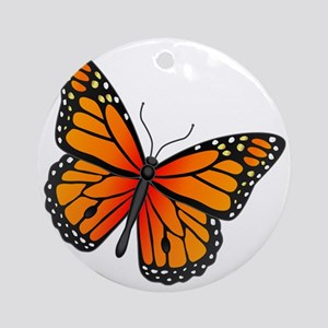 monarch-butterfly Round Ornament