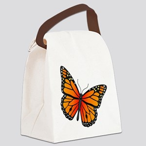 monarch-butterfly Canvas Lunch Bag
