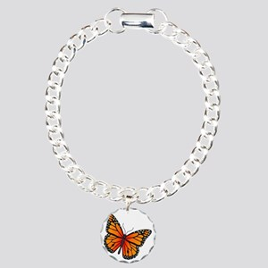monarch-butterfly Charm Bracelet, One Charm
