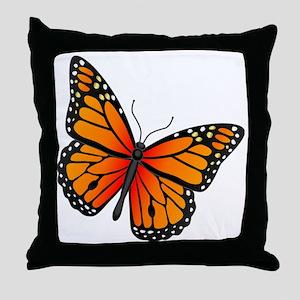 monarch-butterfly Throw Pillow