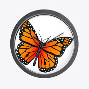 monarch-butterfly Wall Clock