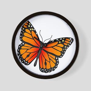 monarch-butterfly Wall Clock