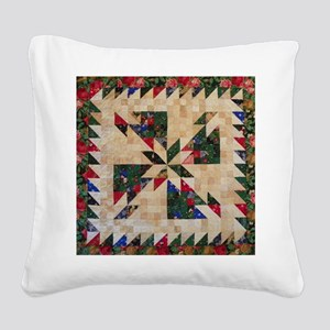 Hunters Star Square Canvas Pillow