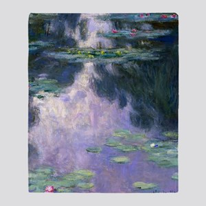 Monet Shower Throw Blanket