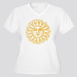 Sunny Day Women's Plus Size V-Neck T-Shirt
