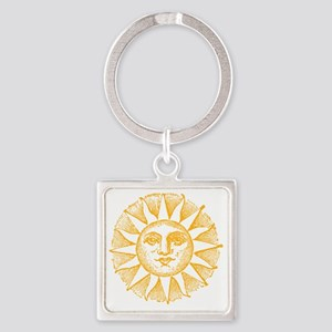 Sunny Day Square Keychain