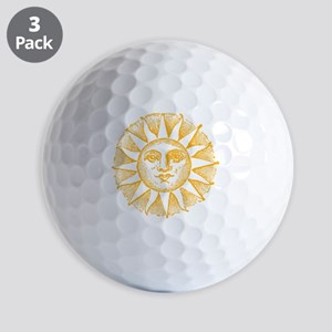 Sunny Day Golf Balls
