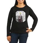 Write Way Designs Women's Long Sleeve Dark T-Shirt