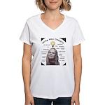 Write Way Designs Women's V-Neck T-Shirt