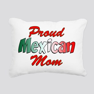Proud Mexican Mom Rectangular Canvas Pillow