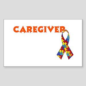 CareGiver Rectangle Sticker