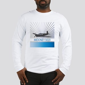 Aircraft Mooney M20 Long Sleeve T-Shirt