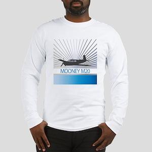 Aircraft Mooney M20 Long Sleeve T-Shirt