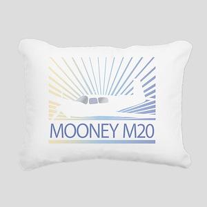 Aircraft Mooney M20 Rectangular Canvas Pillow