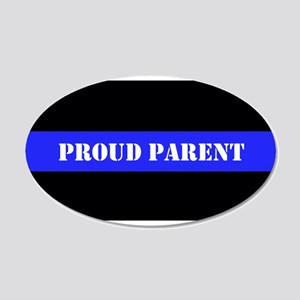 Proud Police Parent Wall Decal