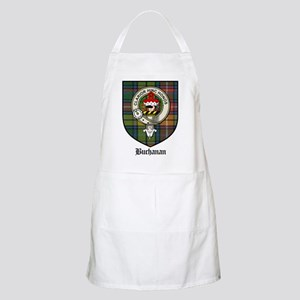 Buchanan Clan Crest Tartan BBQ Apron