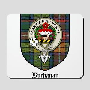 Buchanan Clan Crest Tartan Mousepad
