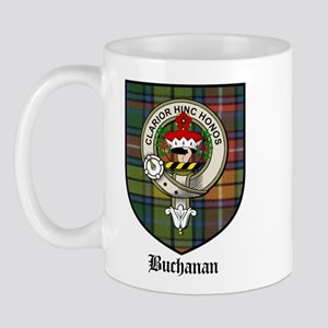 Buchanan Clan Crest Tartan Mug