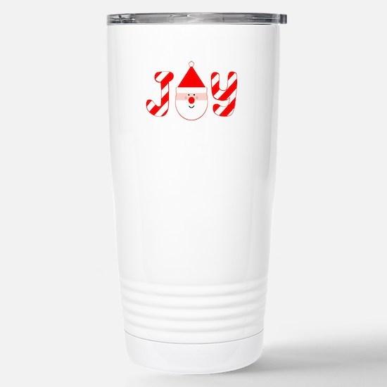 Christmas Joy Stainless Steel Travel Mug