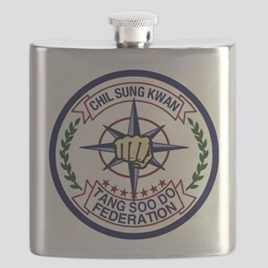Chil Sung Kwan Federation Logo Flask