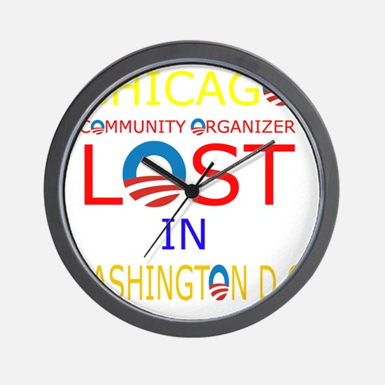 LOST CHICAGO Wall Clock