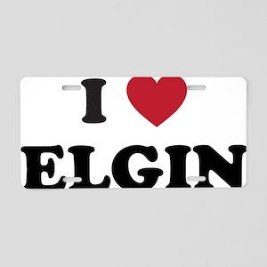ELGIN Aluminum License Plate