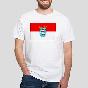 Hessen White T-Shirt