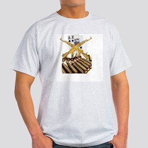 Ace King with Gold AK 47 Light T-Shirt