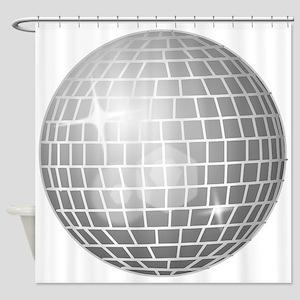 Disco Ball Shower Curtain