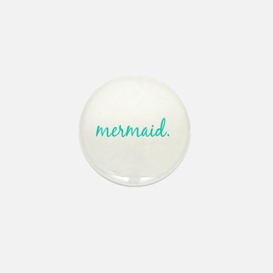Funny Mermaid Mini Button