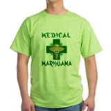 Medical marijuana Green T-Shirt