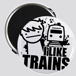 I Like Trains! Magnet