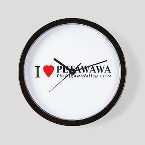 I heart Petawawa Wall Clock