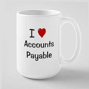 Accounts Payable - I Love Accounts Payable Mugs