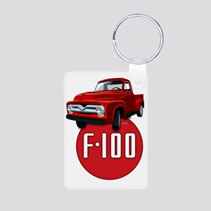 Second generation Ford F-1 Aluminum Photo Keychain