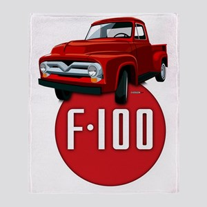 Second generation Ford F-100 Throw Blanket