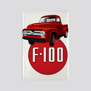 Second generation Ford F-100 Rectangle Magnet