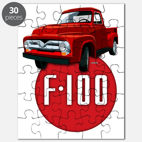 Second generation Ford F-100 Puzzle
