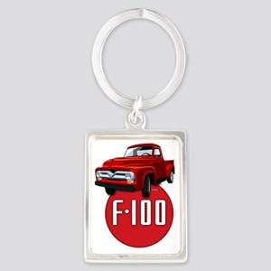 Second generation Ford F-100 Portrait Keychain