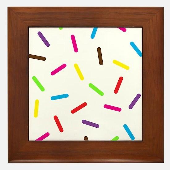 Sprinkles Framed Tile