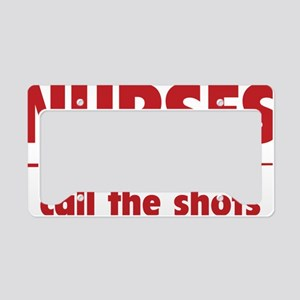 nurseShots1D License Plate Holder