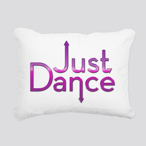 Just Dance Rectangular Canvas Pillow